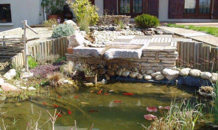 Création de bassins à Fareins et sa région. Jardin Décor