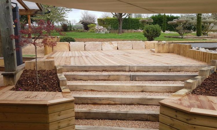 Création de terrasse à Fareins et sa région. Jardin Décor